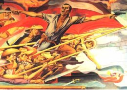 American institute for english proficiency helping you for Bonifacio mural